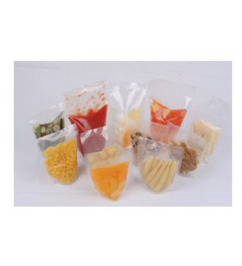 COOK IN POUCH - Stand Up Pouch 115c - 90 Micron - (Clear)